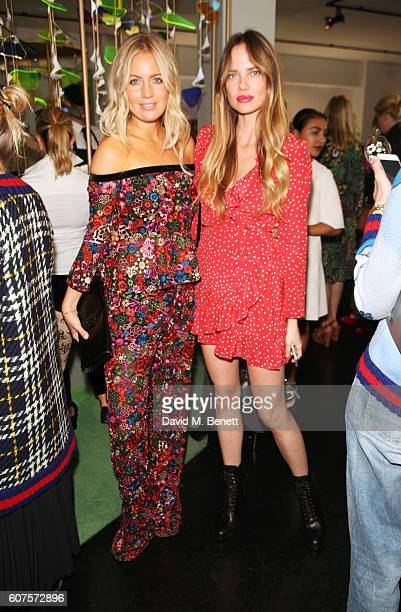 Marissa Montgomery and Alicia Rountree attend the Sunday Times Styles Fashion Special party during London Fashion Week Spring/Summer collections 2017...
