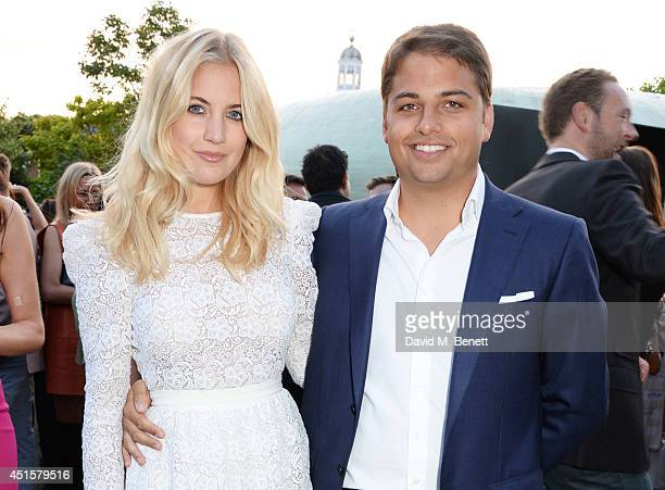 Marissa Montgomery and Jamie Reuben attend The Serpentine Gallery Summer Party cohosted by Brioni at The Serpentine Gallery on July 1 2014 in London...