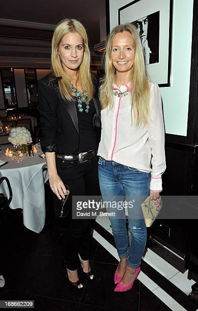 Marissa Montgomery and Martha Ward attend Joe's x Purple Magazine dinner at Le Caprice on May 13 2013 in London United Kingdom