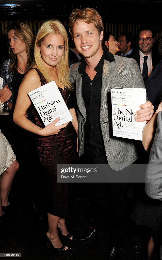 Marissa Montgomery (L) and Sam Branson attend the launch of 'The New Digital Age: Reshaping The Future Of People, Nations and Business' by Eric Schmidt and Jared Cohen, hosted by Jamie Reuben, at Loulou's on May 28, 2013 in London, England.