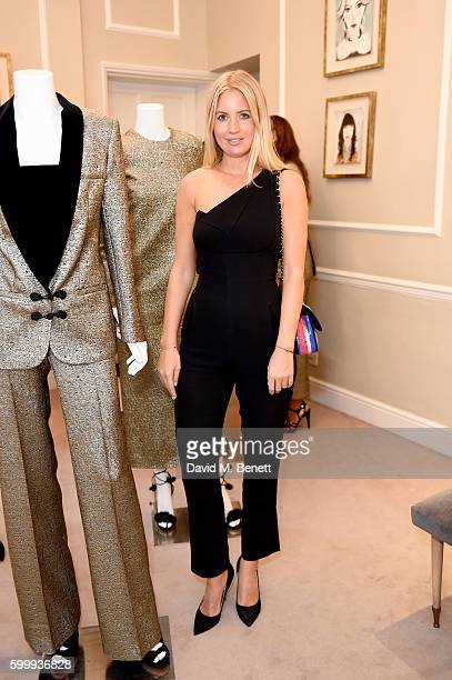 Marissa Montgomery attends a cocktail reception hosted by RACIL and MATCHESFASHIONCOM to celebrate the launch of Racil AW16 Collection on September 7...