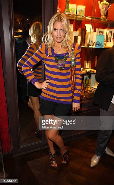 Marissa Montgomery attends private view of Coco De Mer And John Stoddart: Love And Lust on September 9, 2009 in London, England.