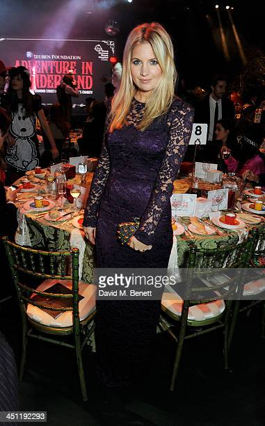 Marissa Montgomery attends the Adventure in Wonderland Ball held by The Reuben Foundation in aid of Great Ormond Street Hospital Children's Charity...