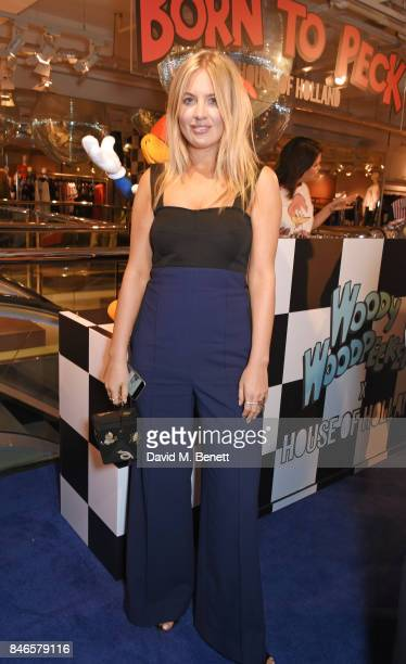 Marissa Montgomery attends the launch of the House of Holland x Woody Woodpecker London Fashion Week pop up at Fenwick Of Bond Street on September 13...