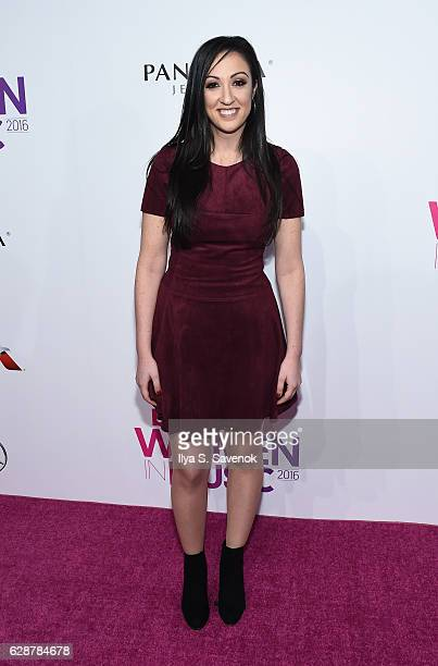 Marissa Morris attends Billboard Women In Music 2016 airing December 12th On Lifetime at Pier 36 on December 9 2016 in New York City