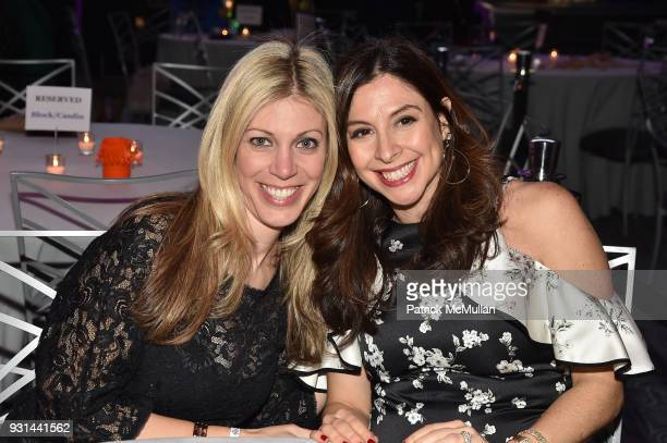 Marissa Opperman and Sharonn Bergstein attend NYU Langone's Playing for Pediatrics Winter Game Night at The Ziegfeld Ballroom on March 8 2018 in New...