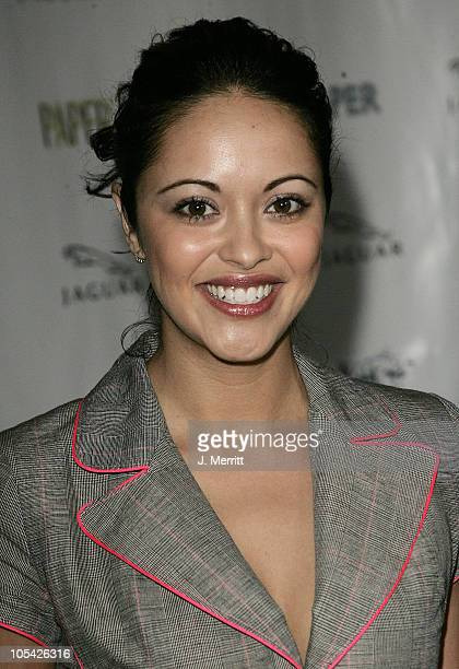 Marissa Ramirez during Paper Magazine and Jaguar 2005 Celebrate the 8th Annual Beautiful People Issue at Roosevelt Hotel Hollywood in Hollywood...