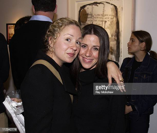 Marissa Ribisi and Soleil Moon Frye during Art of Elysium's Multi-Media Exhibition from artist Shane Edelman hosted by Michael Rapaport and Brad Rowe...