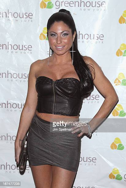 Marissa Sabatelli attends the 'Americas Next Top Model Boys vs Girls' Cycle 20 Season Finale Party at Greenhouse on November 8 2013 in New York City