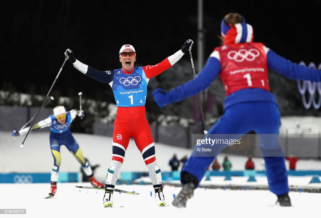 Cross-Country Skiing - Winter Olympics Day 8 : News Photo