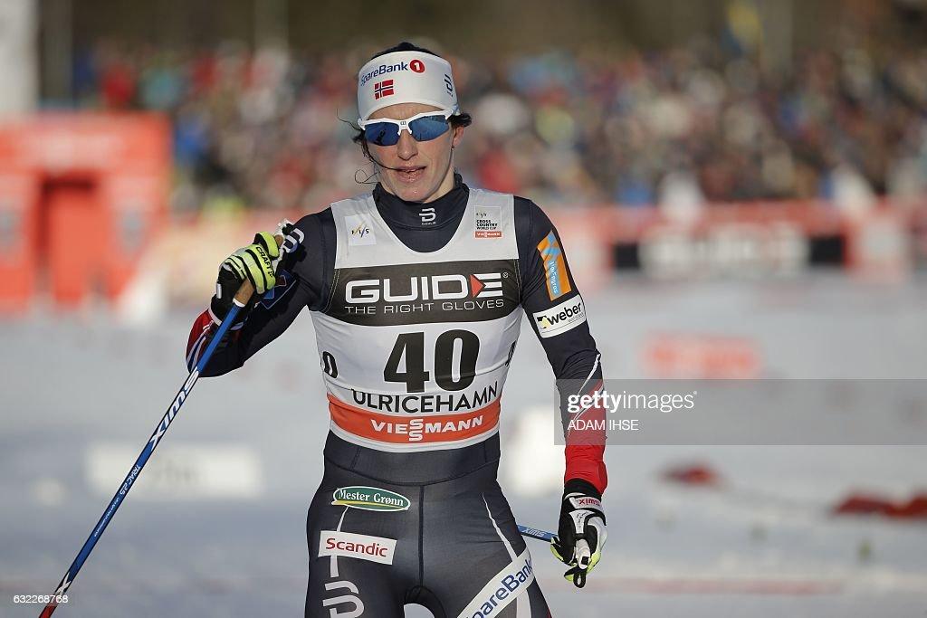 CROSS-COUNTRY-SKIING-WOMEN-WORLD : News Photo