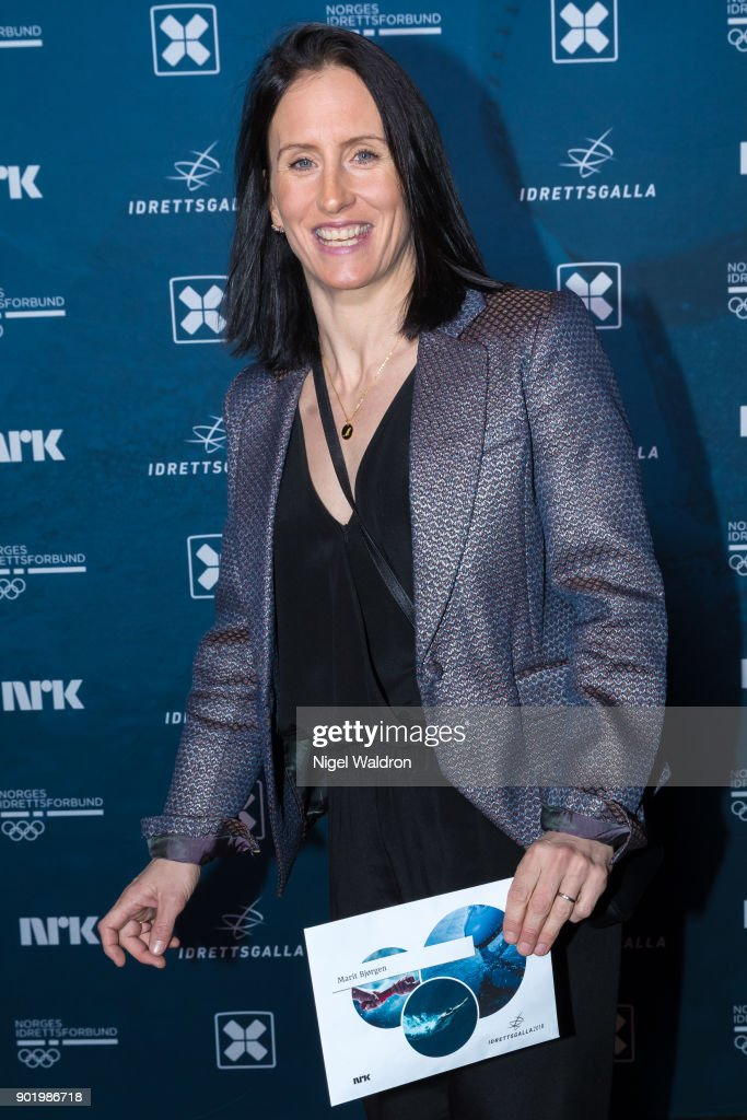 Marit Bjorgen attends the Sport Gala Awards at the Olympic Amphitheater on January 6, 2018 in Hamar, Norway.