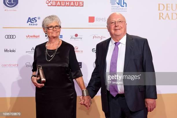 Marita Bluem and Norbert Bluem attend the Deutscher Radiopreis at Schuppen 52 on September 6 2018 in Hamburg Germany
