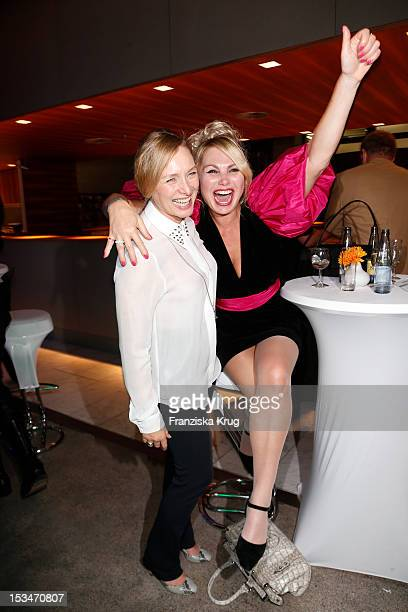 Marita Marschall and Christine Zierl attend the TELE 5 Directors Cut at Sofitel on October 5 2012 in Hamburg Germany