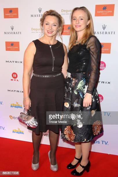 Marita Marschall and her daughter Zoe Marie Marschall attend the Movie Meets Media event 2017 at Hotel Atlantic Kempinski on November 27 2017 in...