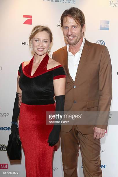 Marita Marschall and Pius Schmitt attend Movie meets Media at Hotel Atlantic on November 30, 2012 in Hamburg, Germany.