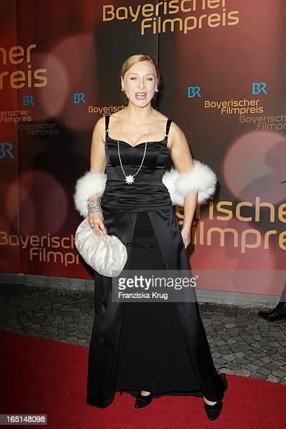 Marita Marschall Bei Der 32 Verleihung Des Bayerischen Filmpreises In München