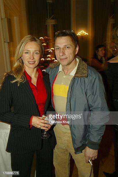 Marita Marschall Und Schauspieler Richy Müller Bei Movie Meets Media Im Hotel Atlantic In Hamburg Am 081203