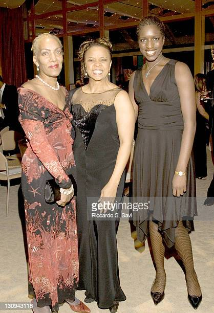 Marita Monroe Carolynn Bond and Maya Monroe during Touching A Life Gala at Denver Center for the Performing Arts in Denver Colorado United States
