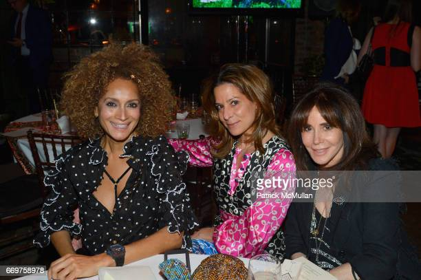 Marita Stavrou Pippa Cohen and guest attend The Turtle Conservancy's 4th Annual Turtle Ball at The Bowery Hotel on April 17 2017 in New York City