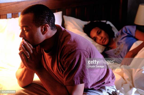 marital problems - erectile dysfunction stock pictures, royalty-free photos & images