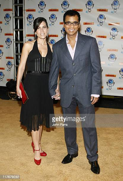 Maritere Secada and Jon Secada during 4th Annual Premios Fox Sports Awards Arrivals at Jackie Gleason Theater for the Performing Arts in South Beach...