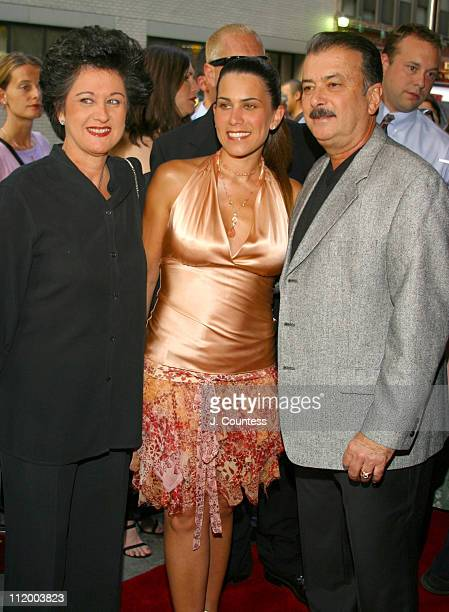 Maritere Secada and parents during Jon Secada Returns to Broadway as the New Emcee in Cabaret at Studio 54 in New York City New York United States