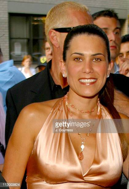 Maritere Secada during Jon Secada Returns to Broadway as the New Emcee in Cabaret at Studio 54 in New York City New York United States
