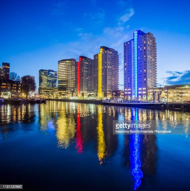 maritime district - image stockfoto's en -beelden