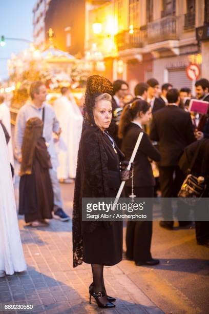 Maritime Holy Week procession in Valencia, Sacred Burial.