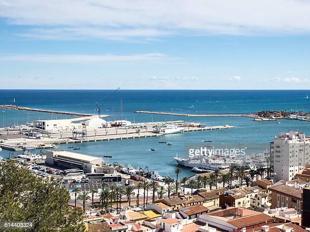 Maritime port of the city of Denia