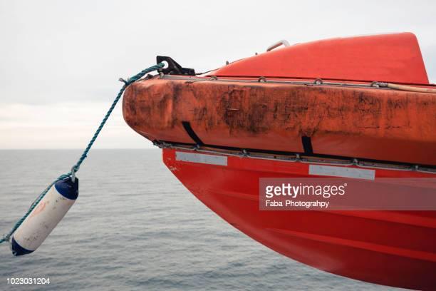 Maritime rescue boats