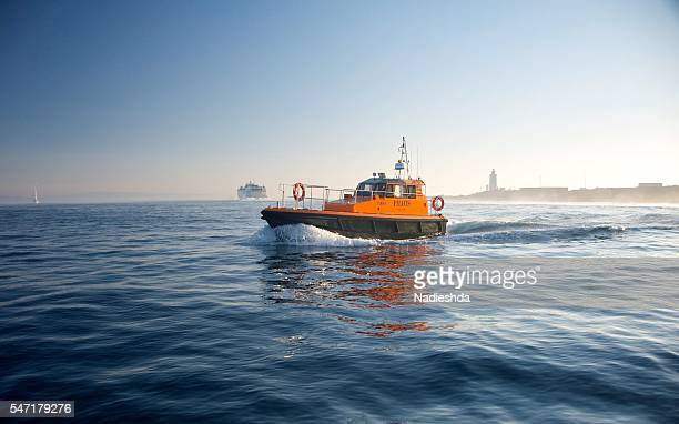 Maritime rescue boats, Strait of Gibraltar