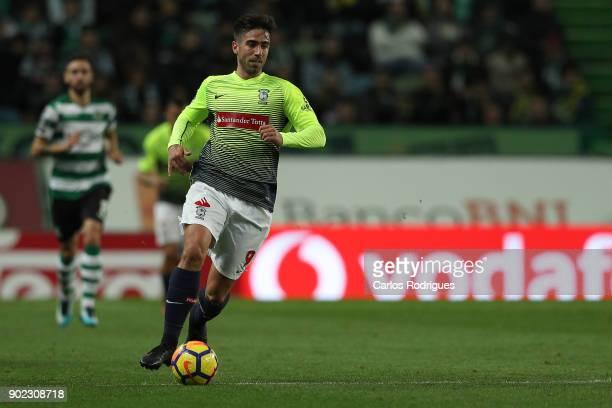 CS Maritimo forward Rodrigo Pinho from Brazil during the Portuguese Primeira Liga match between Sporting CP and CS Maritime at Estadio Jose Alvalade...