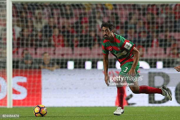 Maritimo's defender Mauricio Carvalho from Brazil during the SL Benfica v CS Maritimo Portuguese Cup round 4 match at Estadio da Luz on November 19...