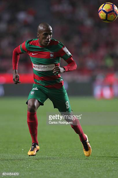 Maritimo's defender Samuel Santos from Brazil during the SL Benfica v CS Maritimo Portuguese Cup round 4 match at Estadio da Luz on November 19 2016...