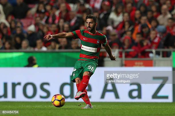 Maritimo's forward Antonio Xavier from Portugal during the SL Benfica v CS Maritimo Portuguese Cup round 4 match at Estadio da Luz on November 19...