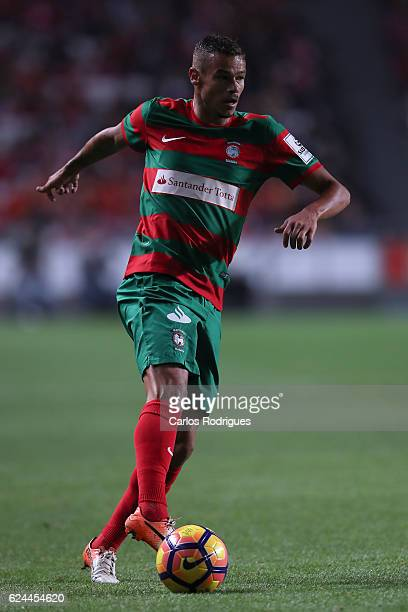 Maritimo's forward Edgar Costa from Portugal during the SL Benfica v CS Maritimo Portuguese Cup round 4 match at Estadio da Luz on November 19 2016...