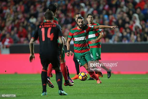 Maritimo's midfielder Erdem Sen from Torquey during Portuguese Cup match between SL Benfica v CS Maritimo at Luz Stadium in Lisbon on November 19 2016