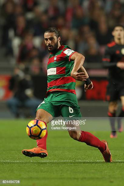 Maritimo's midfielder Erdem Sen from Torquey during the SL Benfica v CS Maritimo Portuguese Cup round 4 match at Estadio da Luz on November 19 2016...