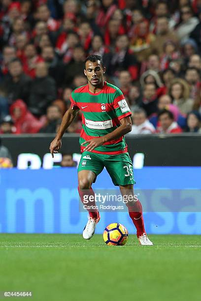 Maritimo's midfielder Fransergio from Brazil during the SL Benfica v CS Maritimo Portuguese Cup round 4 match at Estadio da Luz on November 19 2016...