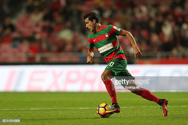 Maritimo's midfielder Gevorg Ghazaryan from Armenia during the SL Benfica v CS Maritimo Portuguese Cup round 4 match at Estadio da Luz on November 19...