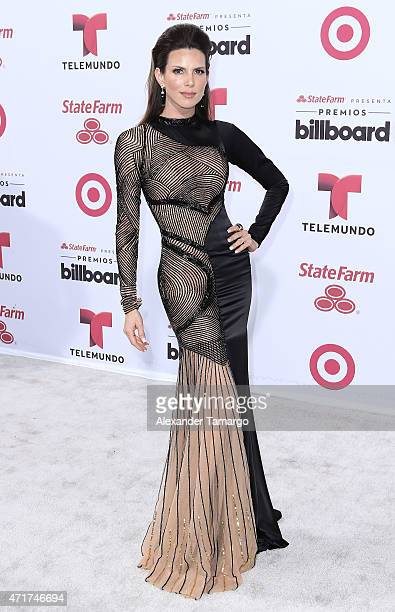 Maritza Rodriguez arrives at 2015 Billboard Latin Music Awards presented by State Farm on Telemundo at Bank United Center on April 30 2015 in Miami...