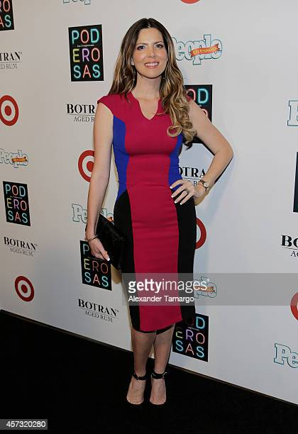 Maritza Rodriguez arrives at the 25 Most Powerful Women of People en Espanol celebration at Coral Gables Country Club on October 16 2014 in Coral...