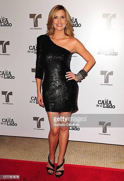 Maritza Rodriguez attends Telemundo La Casa de al Lado VIP Premiere at Mandarin Oriental on May 31, 2011 in Miami, Florida.