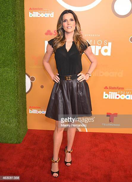Maritza Rodriguez attends the Billboard Latin 2015 nominees press conference at Trump Doral on February 9 2015 in Doral Florida