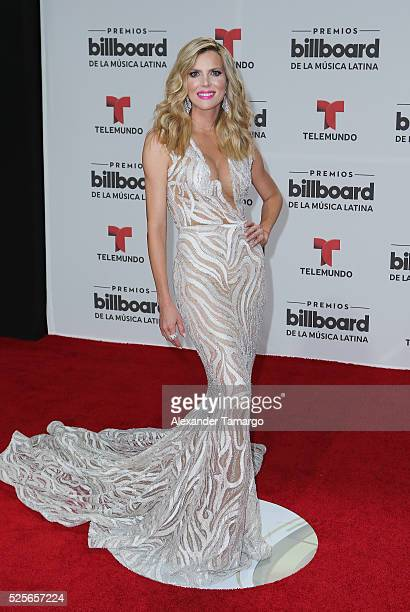 Maritza Rodriguez attends the Billboard Latin Music Awards at Bank United Center on April 28 2016 in Miami Florida