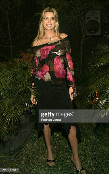 Maritza Rodriguez during Angel Rebelde Telenovela/Soap Opera Photocall at Fono Video Studios in Miami Florida United States