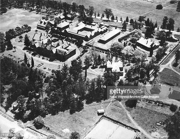 Maritzburg College. This aerial view of College shows the recent addition of the Science Block on the site of the old tennis courts. The tennis...