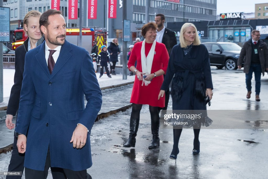 Norwegian Royals Attend Christmas Luncheon in Oslo